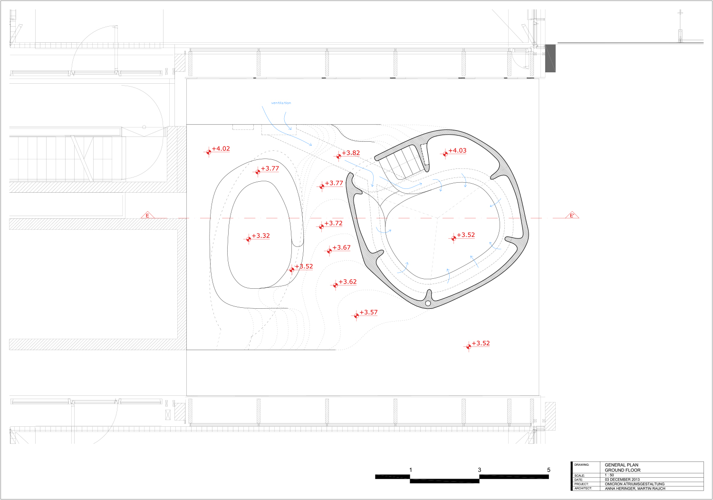 Groundfloor - technical drawing }