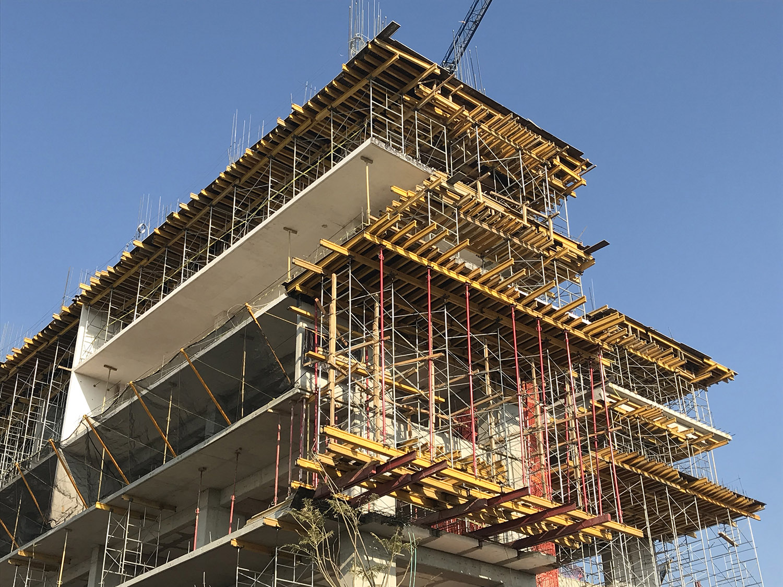 Construction in process photograph ARCHETONIC}