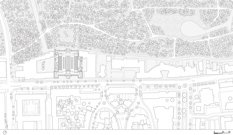 Site plan KAAN Architecten}