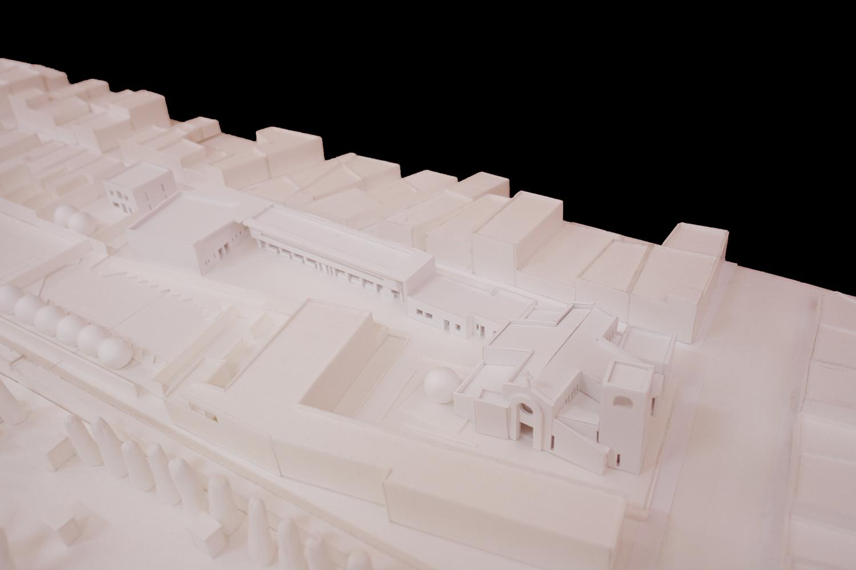 Plastico di progetto arch. Benedetta Fontana}