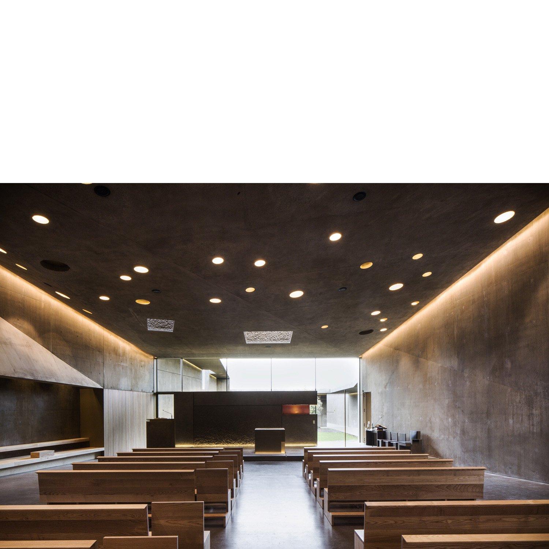 Aula e presbiterio Filippo Romano