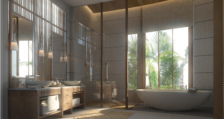 Master bathroom JT+Partners