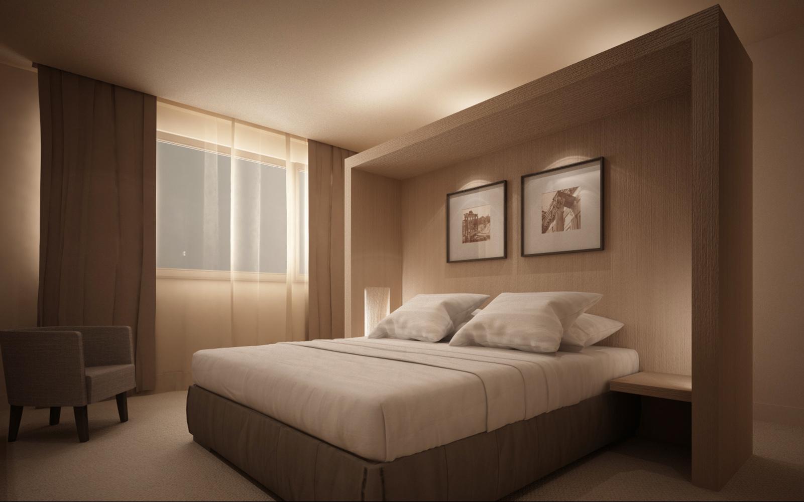 Standard room - Render }