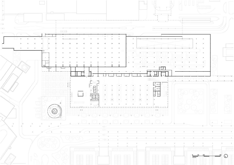 Plan ground floor KAAN Architecten}