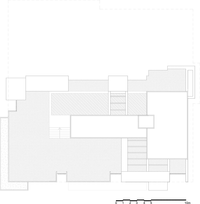 Planimetria di progetto copertura }