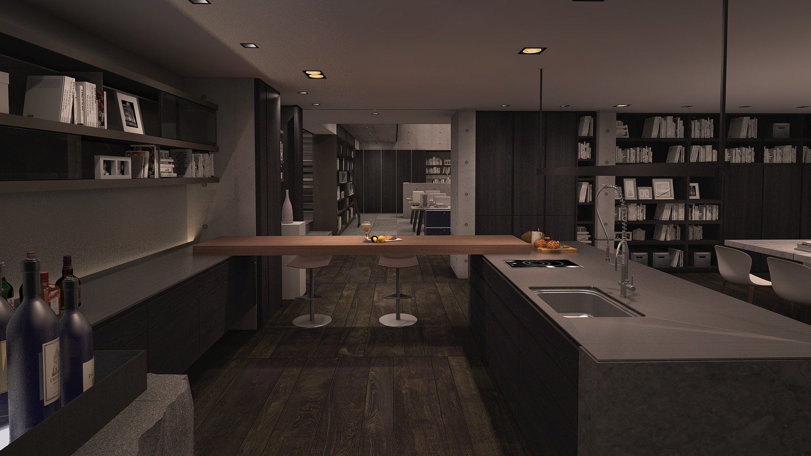 MODULAR KITCHEN Chain10 Architecture & Interior Design Institute}