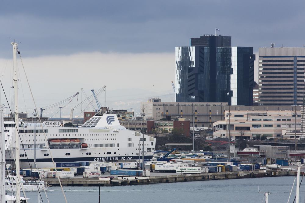 Vista progetto dal porto