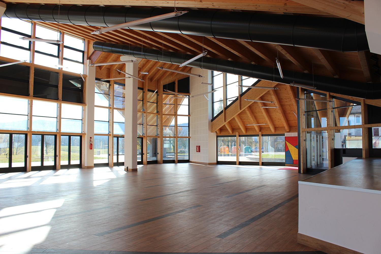 Edificio polivalente e parco urbano - Canove - vista interna 1 Nadia Basso
