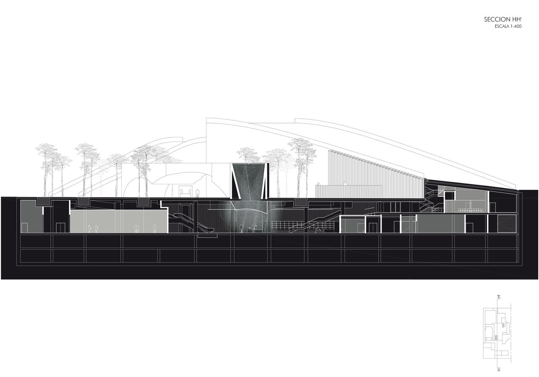 Section-H Guillermo Vazquez Consuegra. Arquitecto}