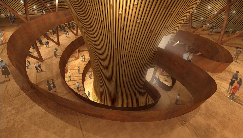 Interno dell'edificio dedicato al museo del generale Li Duo }