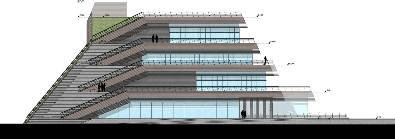 WEST ELEVATION Manço Architects}