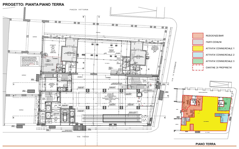 15 - progetto architettonico - piano terra studio B+M Associati}