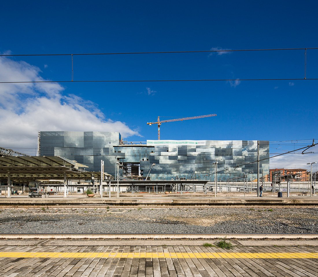 Project view from Tiburtina Station