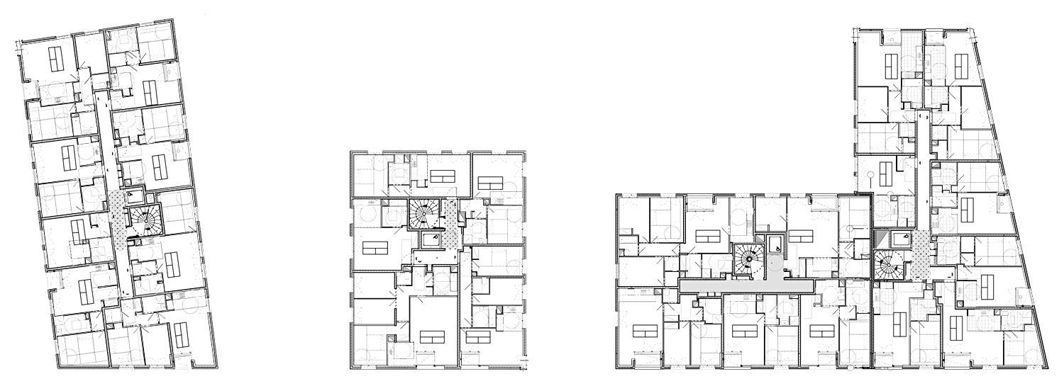 General plans of the complex }