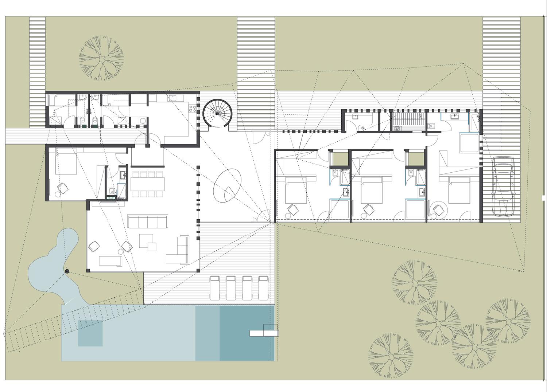 The Villa V4 plan }