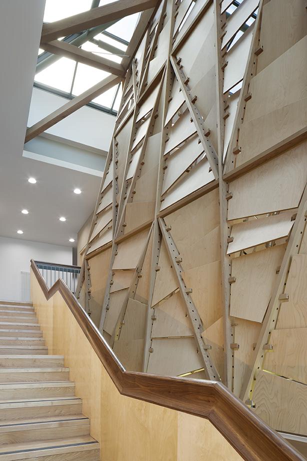 Timber Staircase and Timber Lantern Michael Moran