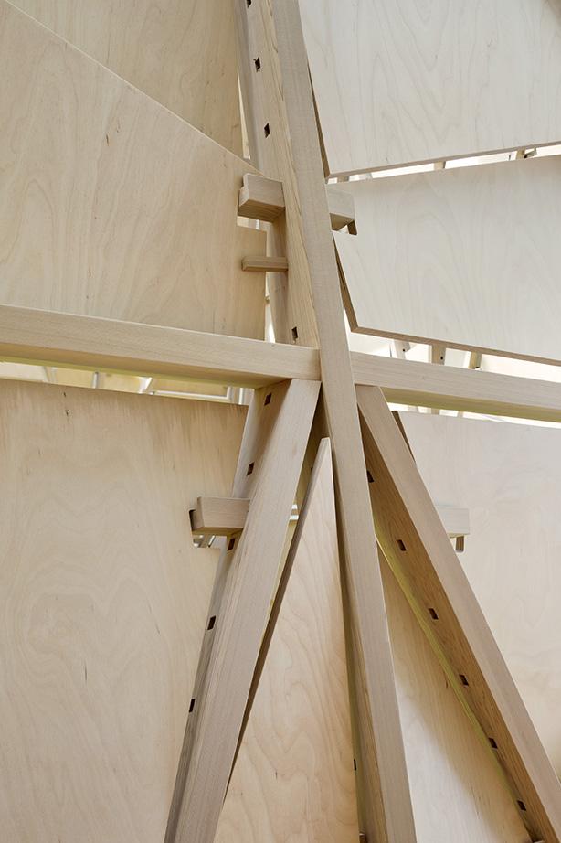 Timber Lantern Detail Michael Moran