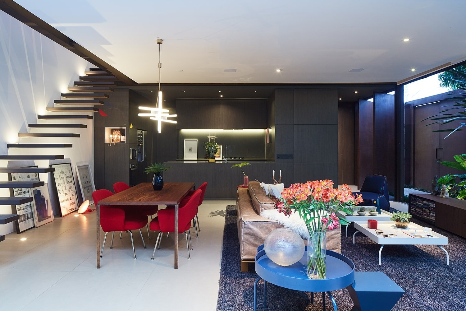 Integration – kitchen and the social area Pedro Kok}
