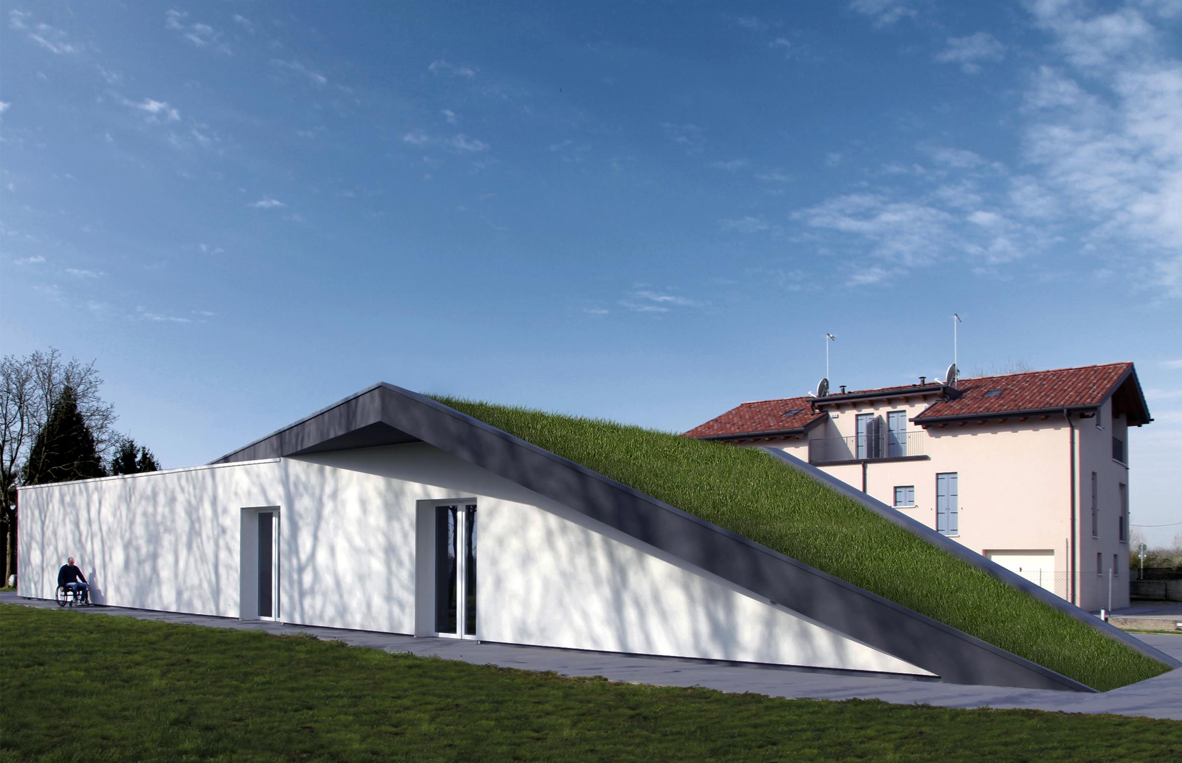 Green roof detail