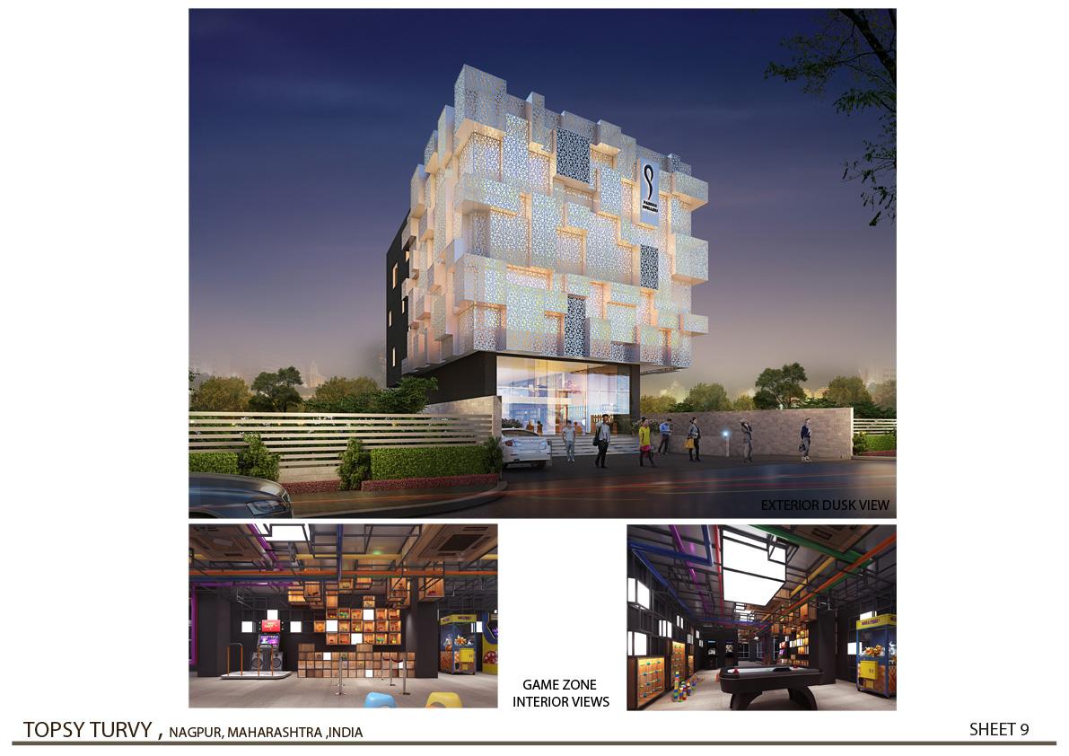 3D Rendering - 01 Zeel Architects }