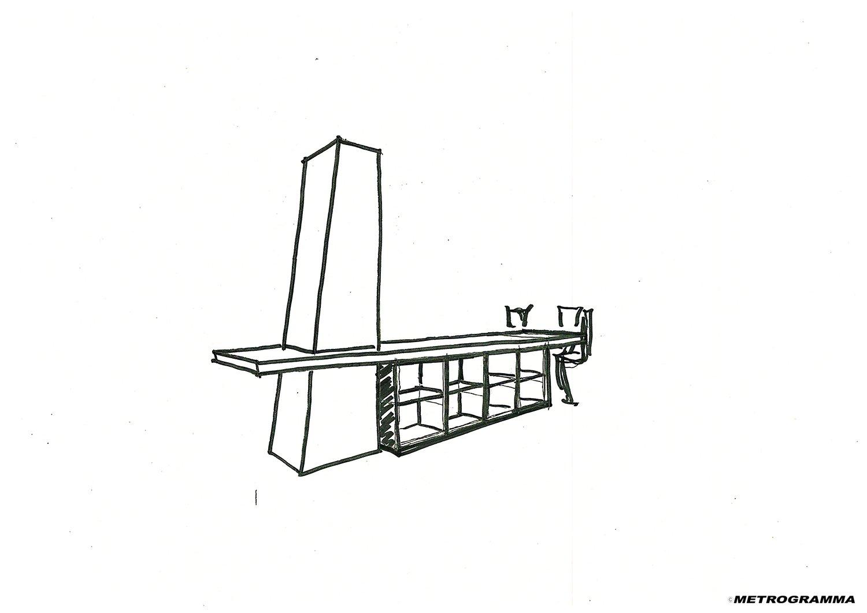 Schizzo di progetto Metrogramma