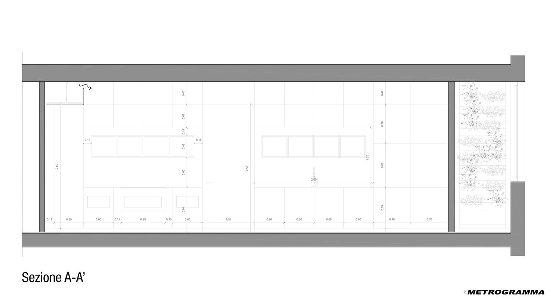 Sezione AA Metrogramma