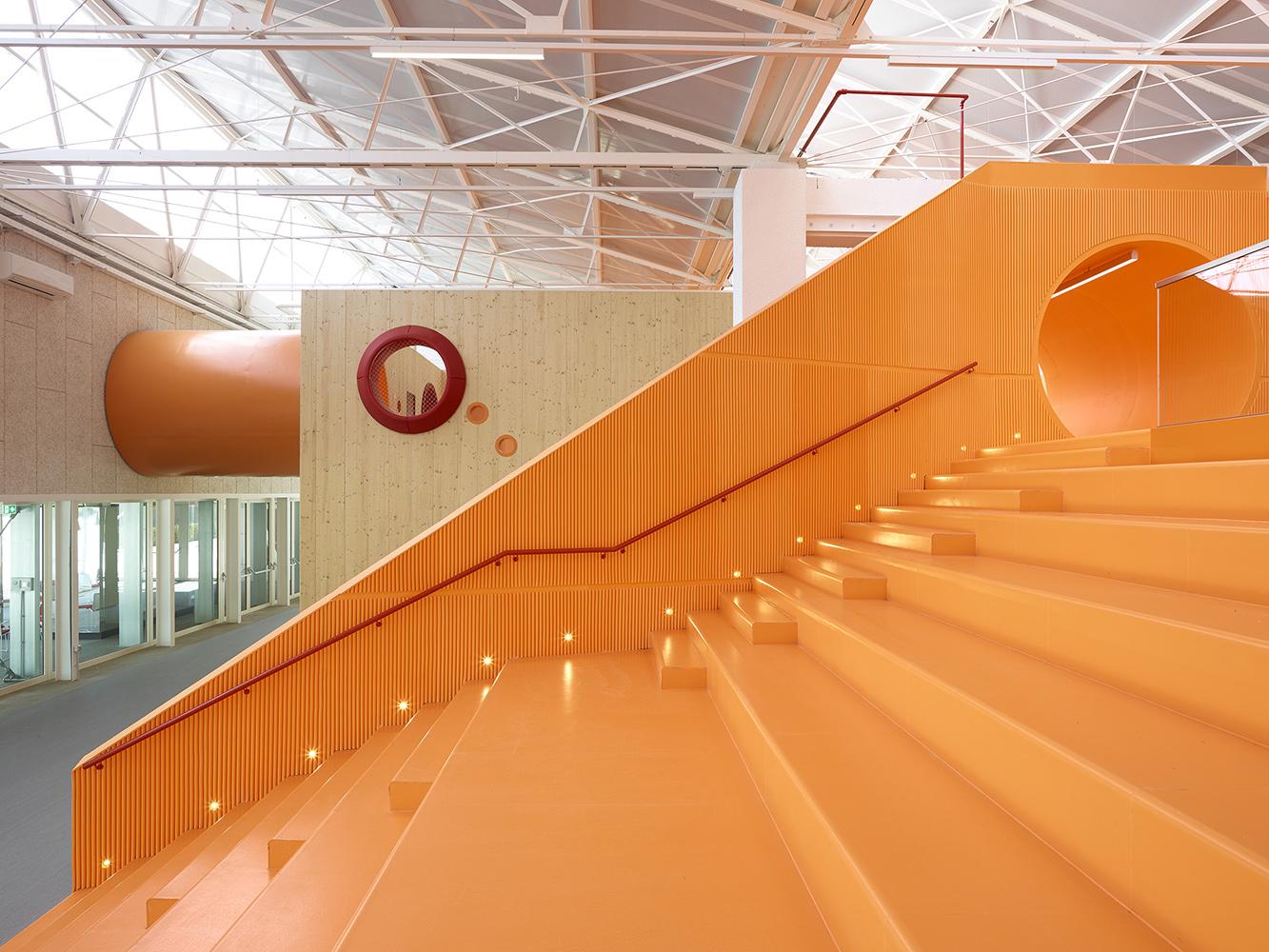 Arena's space of Scuola delle Idee
