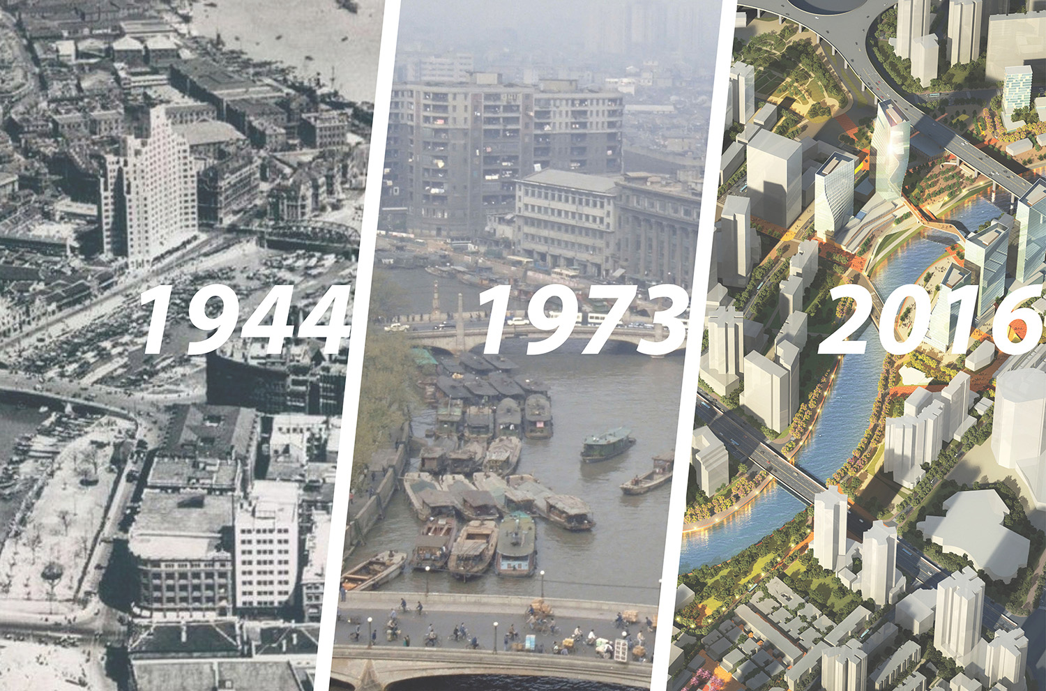 Economic Growth and Environmental Degradation: Suzhou Creek has witnessed the genesis of Shanghai's industrialization, suffered from severe pollution, and is poised to be celebrated as the city's newest pu