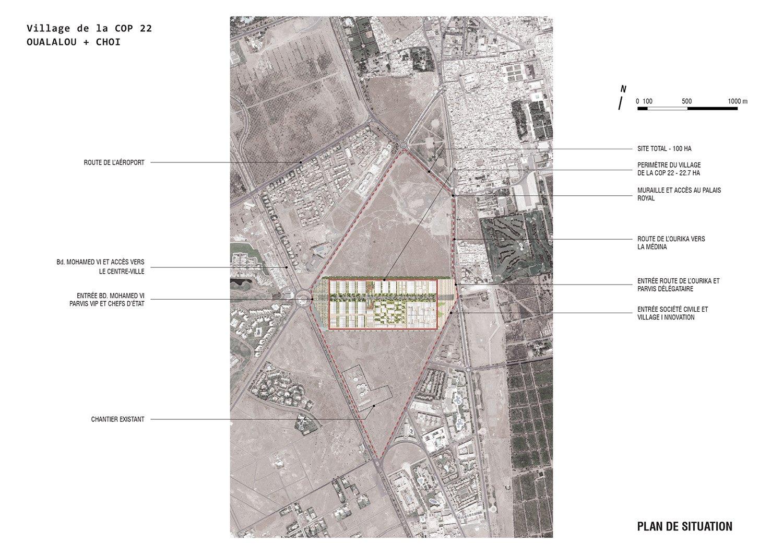 Site plan 1 OUALALOU+CHOI}