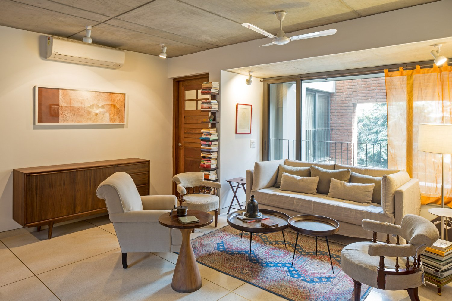 The living spaces form the core of the House Randhir Singh}