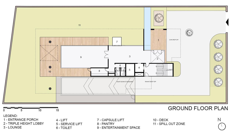 Ground Floor Plan KNS Architects