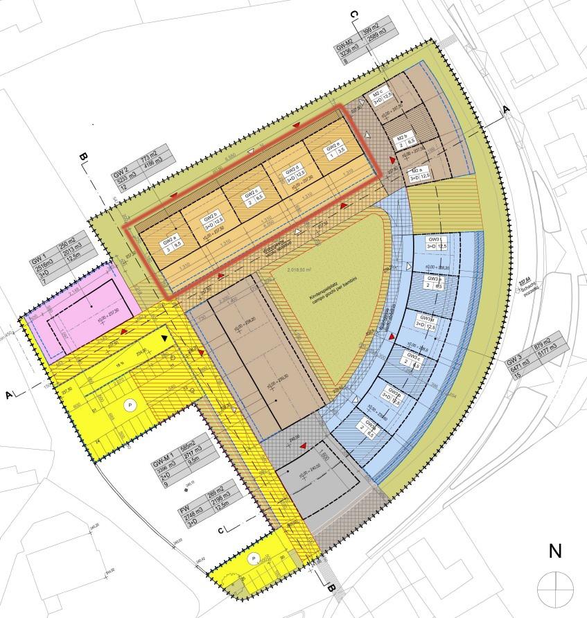 Development plan of the Area }