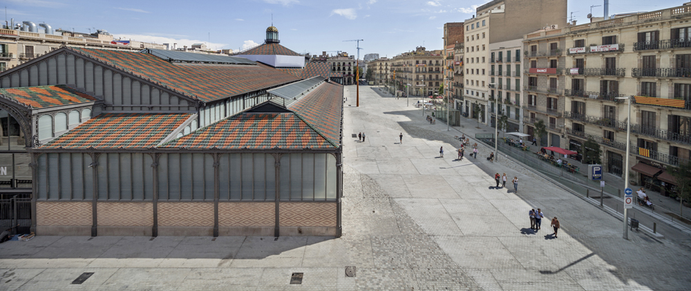 Born Market surrounding area, Barcelona