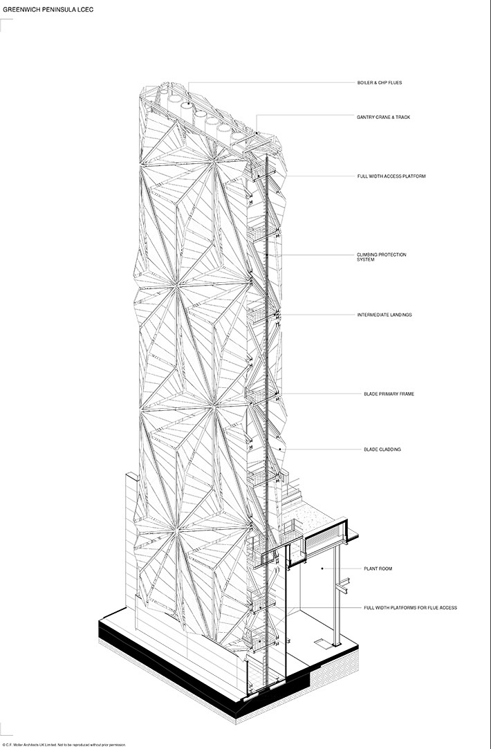 Flue Tower Assembly }