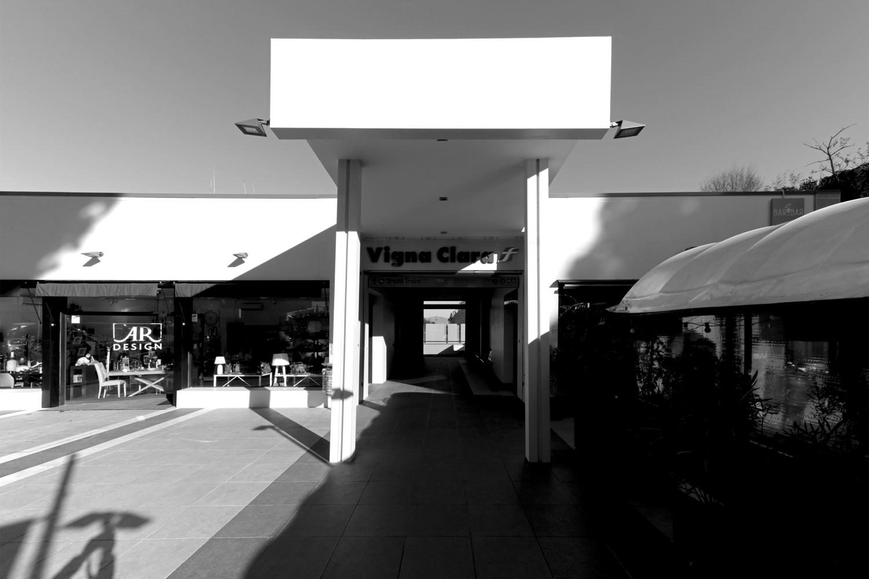 Ingresso principale Stazione Vigna Clara, Roma