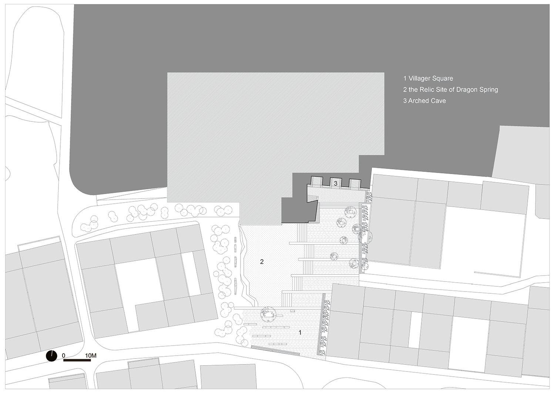 lower ground floor plan }
