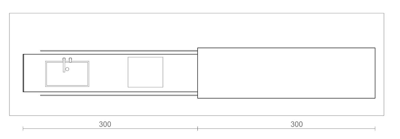 Plan of open Kooq  3ndy Studio }