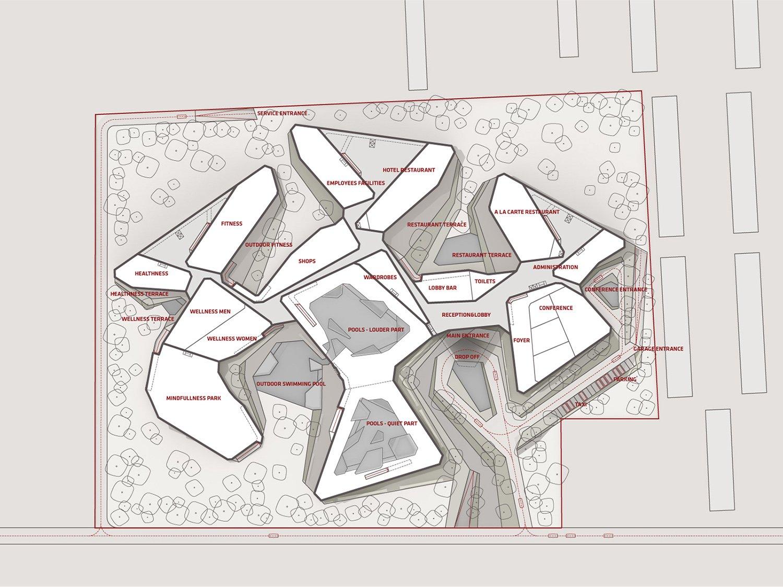 qicun hot spring 04 ground floor layout ENOTA}