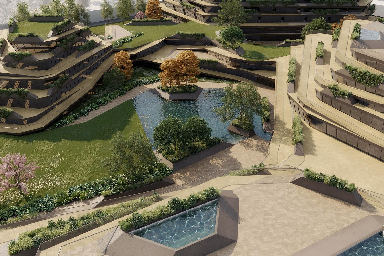 qicun hot spring 13 perspective view ENOTA}