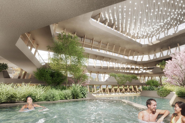 qicun hot spring 14 interior ENOTA}