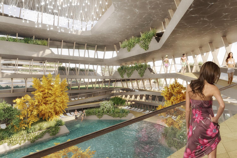 qicun hot spring 15 interior ENOTA}