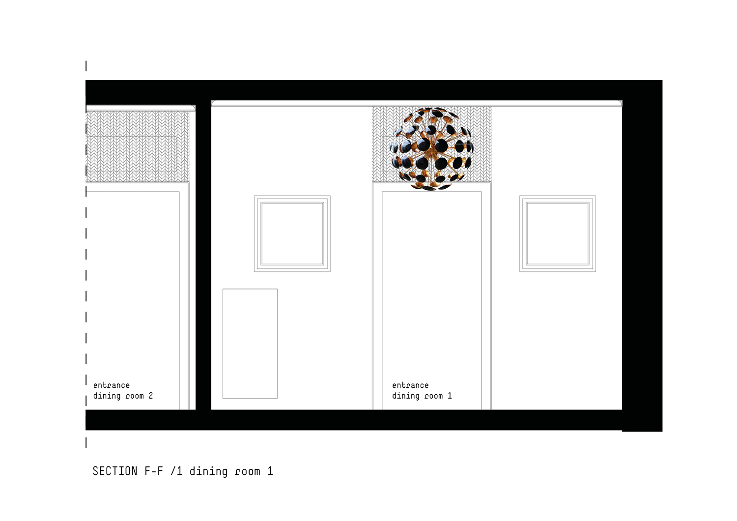 Section Dining room 1 }