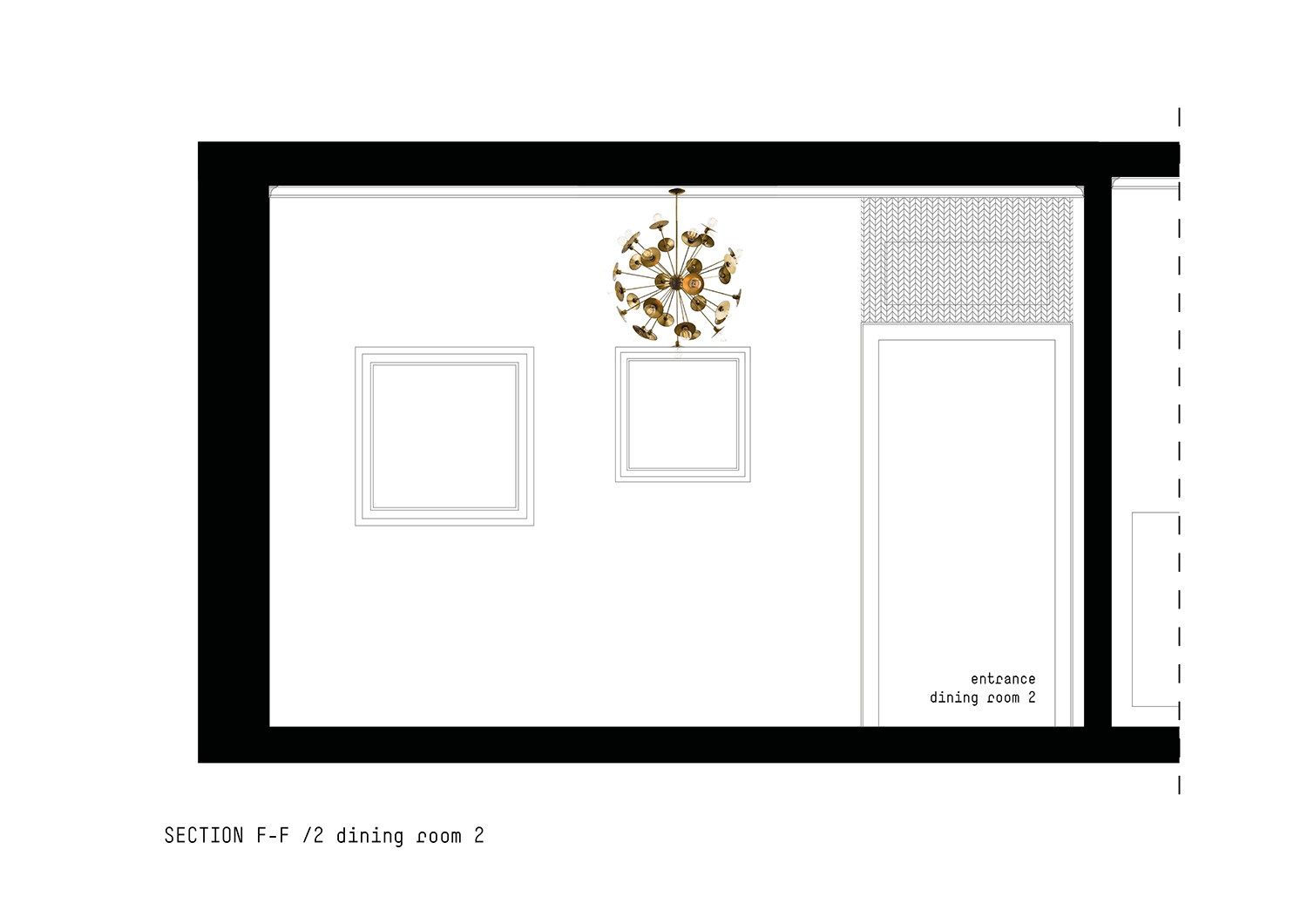 Section Dining room 2 }