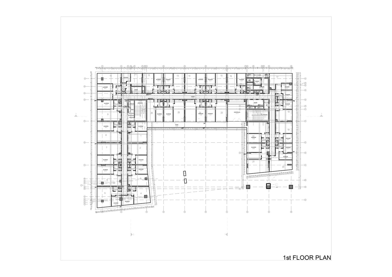 1st FLOOR PLAN Studio Vertebra}
