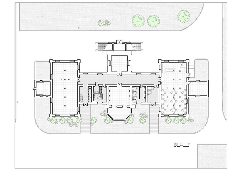 1st Floor Plan }