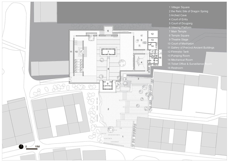 upper ground floor plan }