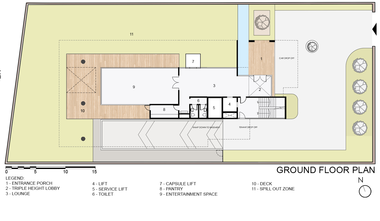 Ground Floor Plan KNS Architects}