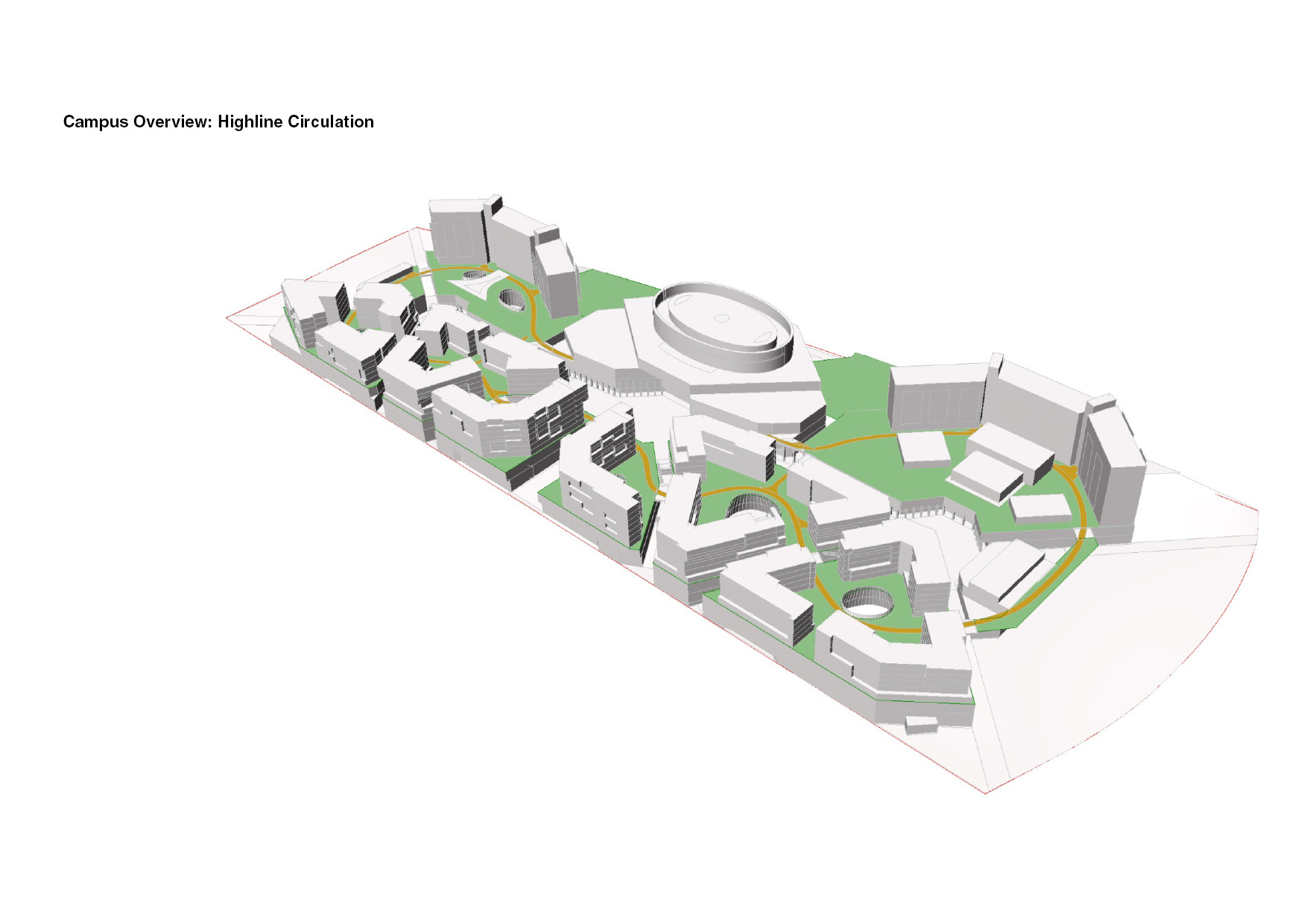 Campus Overview: Highline Circulation }