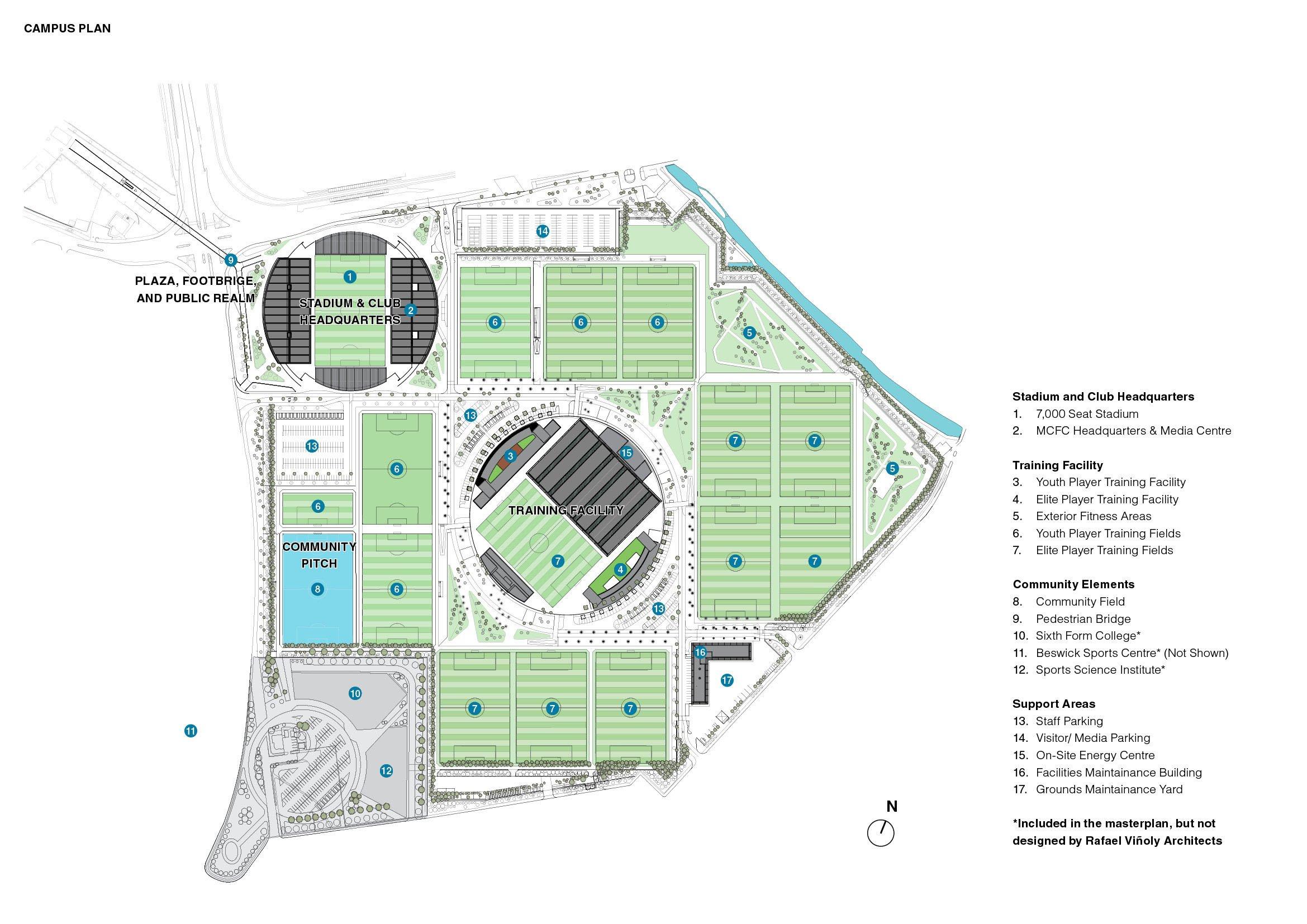 Campus plan }