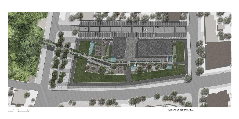 BerKM Bergama Cultural Center - Rooftop Plan }